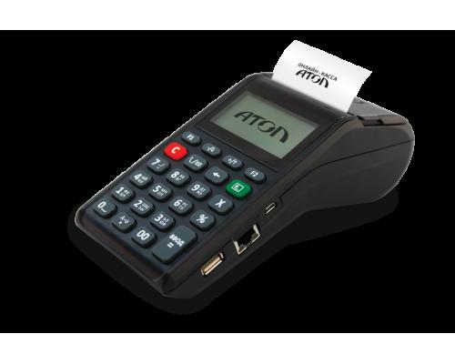 Онлайн-касса АТОЛ 91Ф ФН15 (Wi-Fi, BT, 2G, Ethernet, чёрная) АКЦИЯ!!! Детектор валют в подарок!