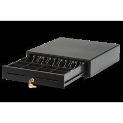 Денежный ящик АТОЛ CD-410-B черный, 410*415*100, 24V