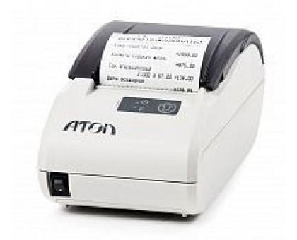 Фискальный регистратор АТОЛ 11Ф, Чёрный, белый, ФН 36 месяцев, RS+USB+АКЦИЯ!!! Сканер ШК или Детектор валют в подарок!