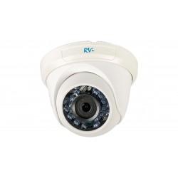 HD-TVI Видеокамера RVi-HDC311B-Т купольная