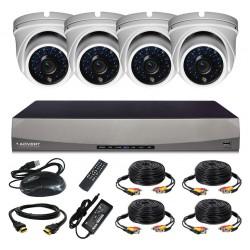Комплект AHD-видеонаблюдения Advert HDCP-104DO-H1
