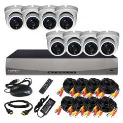 Комплект AHD-видеонаблюдения Advert HDCP-108DO-H1