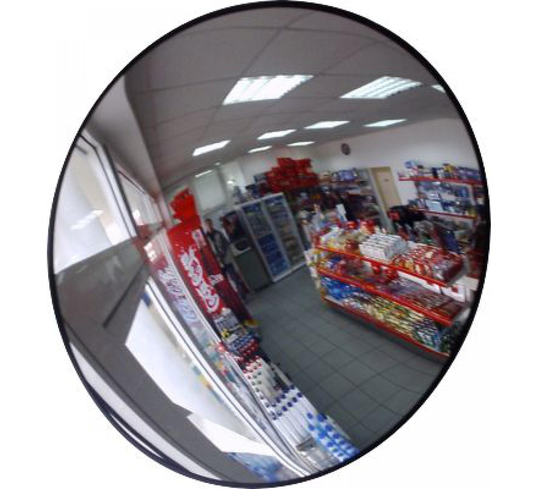 Круглое сферическое зеркало D-450 мм для помещения КНР