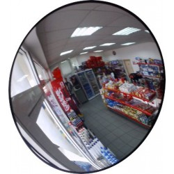 Круглое сферическое зеркало D-450 мм для помещения