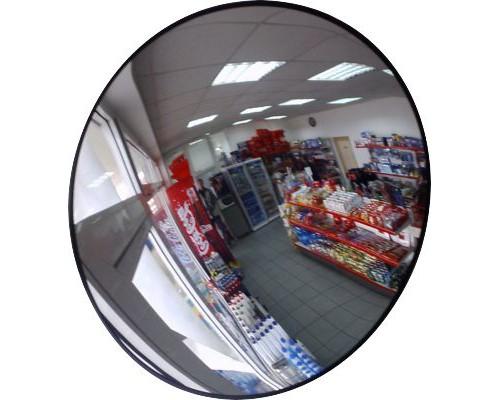 Круглое сферическое зеркало D-500 мм для помещения