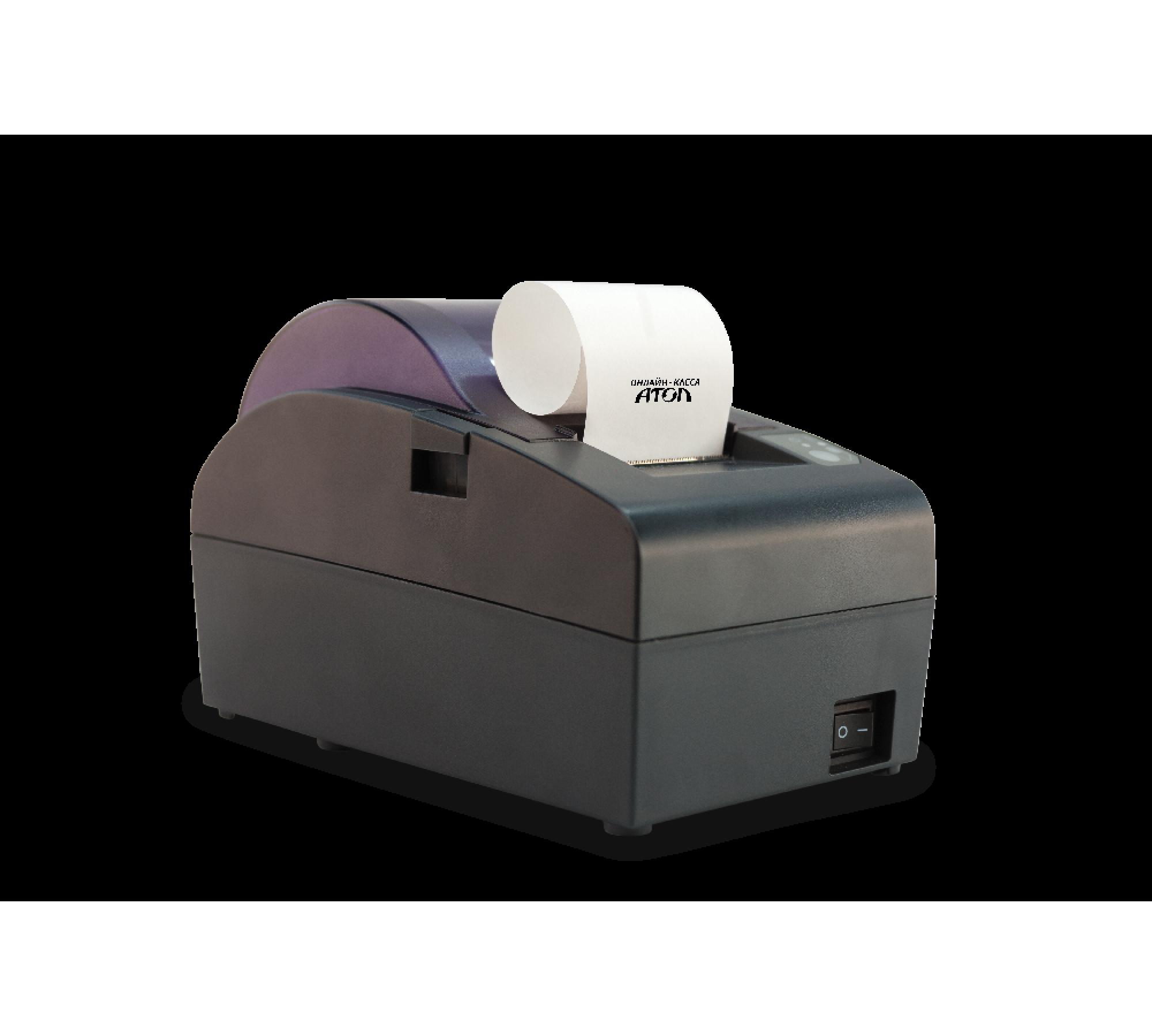 Фискальный регистратор АТОЛ 50Ф (ФН36, USB)+АКЦИЯ!!! Сканер ШК или Детектор валют в подарок!