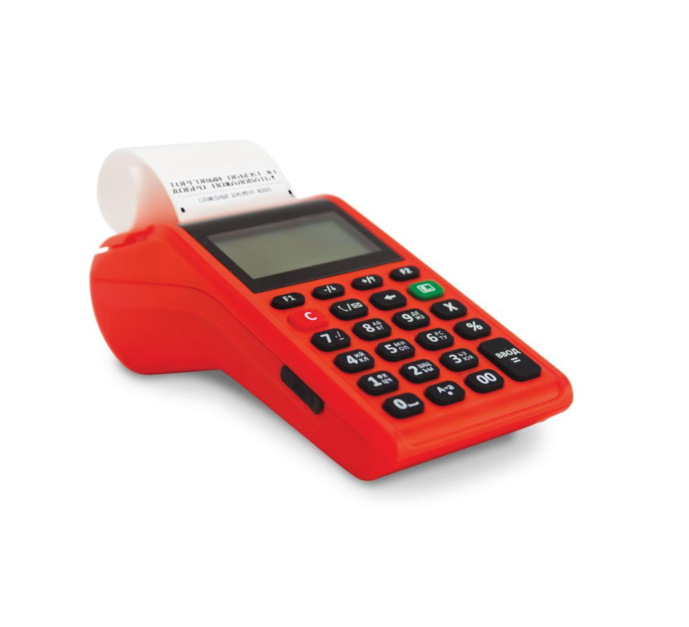Онлайн-касса АТОЛ 91Ф (ФН36, Wi-Fi, BT, 2G, Ethernet, красная)  АКЦИЯ!!! Сканер ШК или Детектор валют в подарок!
