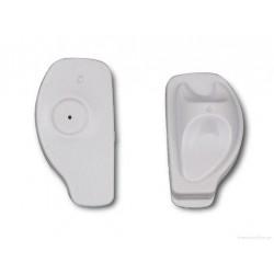 Противокражный датчик «mini Super Tag» AM 54 х 32 х 18мм, белый акустомагнитный