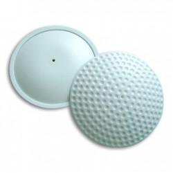 Противокражный датчик «Ракушка гольф» 63мм RF радиочастотный - Large Golf, белый