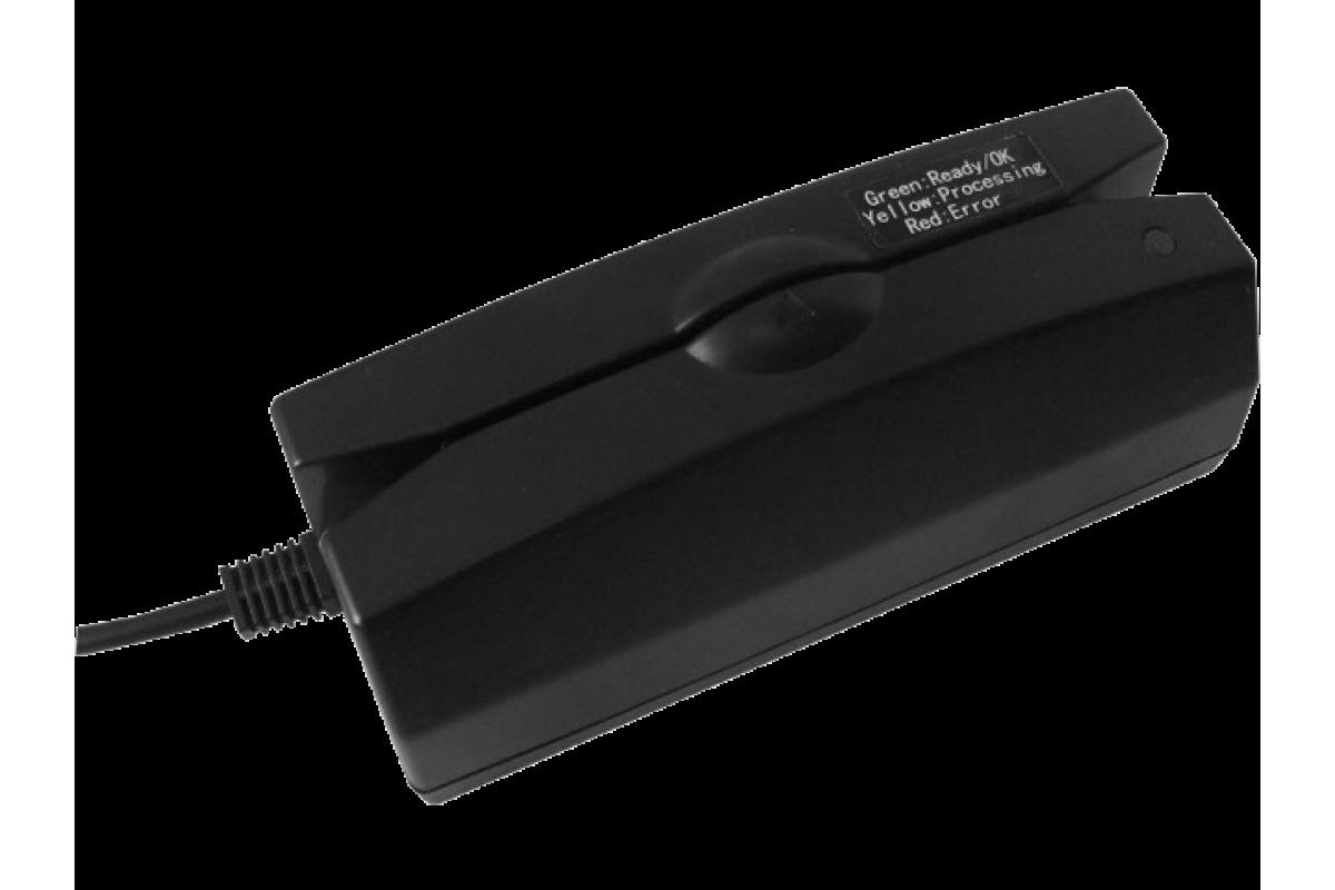 Считыватель магнитных карт Heng Yu C202A (123 дорожки, USB-HID