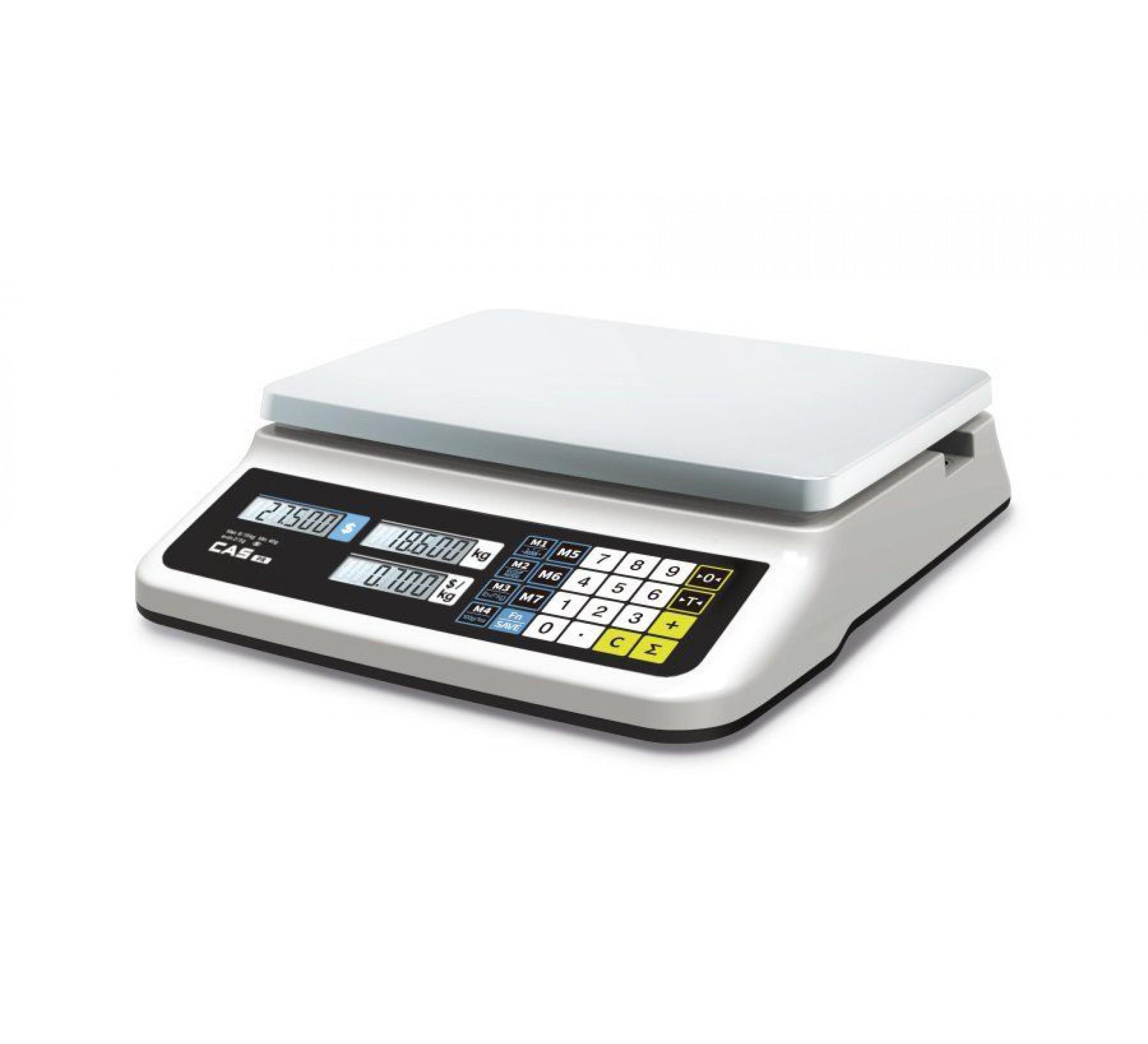 Торговые весы CAS PR-15B (LCD, II)