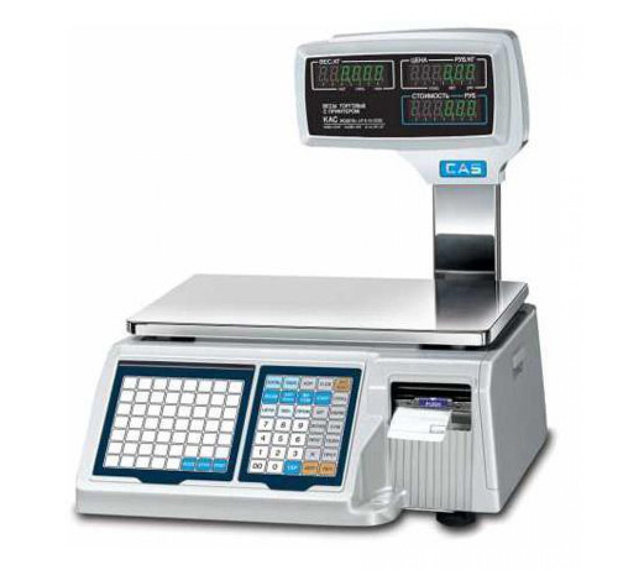CAS LP ПО для ввода информации о товарах (RS232) CAS