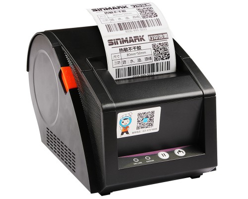 Принтер этикеток VK-3120TU ширина печати 80мм